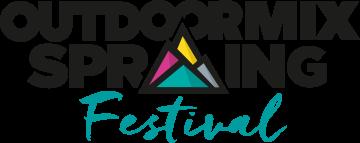 logo outdoormix festival spring